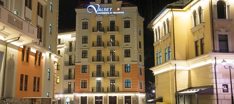 Вальсет отель роза хутор